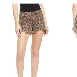 NWT blanknyc leopard shorts 27 from Shopbop